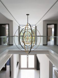 large orbit chandelier for home